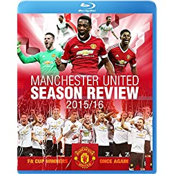 Manchester United Season Review 2015-2016 [Blu-ray]