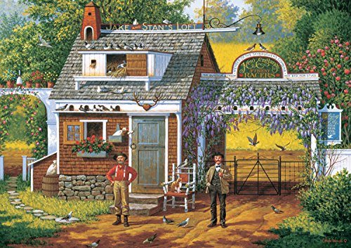Buffalo Games Charles Wysocki: Pigeon Pals - 300 Piece Jigsaw Puzzle by Buffalo Games