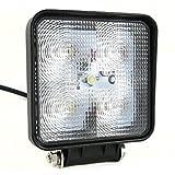 SUCOOL LED 高輝度 15W  12V/24V兼用 作業ライト LEDサーチライト 防水/防塵 看板灯 荷台灯等