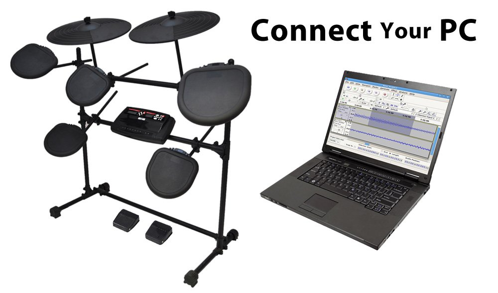 Bộ trống điện tử Pyle-Pro PED02M Electric Thunder Drum Kit With MP3 Recorder