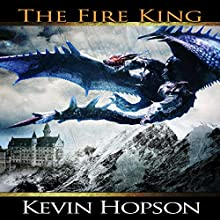 The Fire King Audiobook by Kevin Hopson Narrated by Terry Jenkins