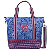 Oilily Graphic Land Shopper – Navy