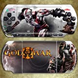 BestFyou® GOD OF WAR 3 Design Decorative Protector Skin Decal Sticker for PSP 3000
