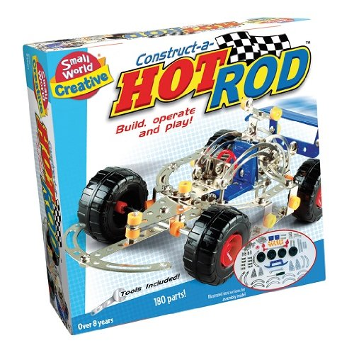 Small World Toys Creative - Construct-A-Hot Rod front-481255