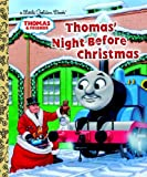 img - for Thomas' Night Before Christmas (Thomas & Friends) (Little Golden Book) book / textbook / text book