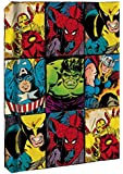 Marvel Heroes Grid Hardcover Journal