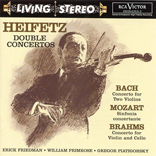 Living Stereo  Jascha Heifetz (Doppelkonzerte) (Aufnahmen 1956 / 1960 / 1961) Picture