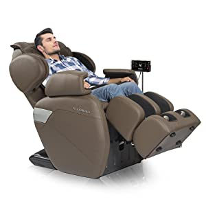 RELAXONCHAIR™ Zero Gravity Shiatsu Massage Chair Recliner width=