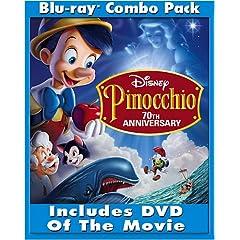 Pinocchio (2-Disc 70th Anniversary Platinum Edition + Standard DVD) [Blu-ray]