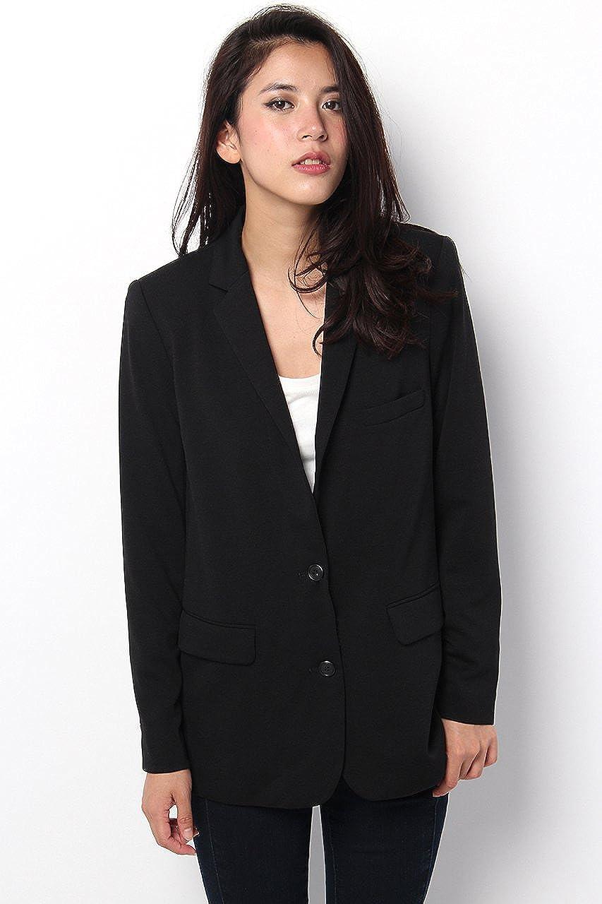 (アズールバイマウジー)AZUL by moussy ポンチ2釦テーラードJK : 服&ファッション小物通販 | Amazon.co.jp
