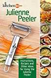 Julienne/Vegetable Peeler & Multi-Purpose Decorative Kitchen Tool With eBook & How-To Videos