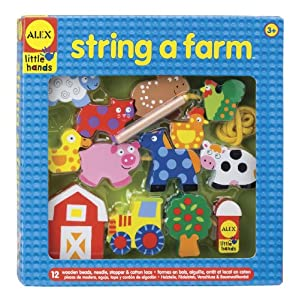 ALEX® Toys - Early Learning String A Farm -Little Hands 1486F