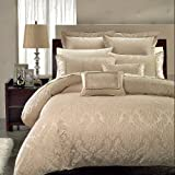 Full/Queen 7-PC Sara Duvet Cover Set By Hotel Collection