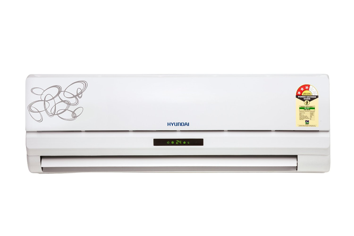 Home Shopping Spree 24th- 28th August | Hyundai HSP53.GO1-QGE Split AC with Americano Bag worth Rs 3990 Free (1.5 Ton, 3 Star Rating, White) By Amazon @ Rs 23,199