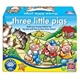 Orchard Toys Three Little Pigs, Multi Color