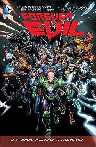 Forever Evil written by Geoff Johns
