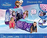 Disney Frozen Indoor Outdoor Play Tent With Peek A Boo EZ Twist Tunnel - Hours Of Delightful Fun For Elsa And Anna Fans