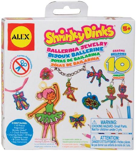 ALEX Toys Shrinky Dinks Minis Ballerina Jewelry