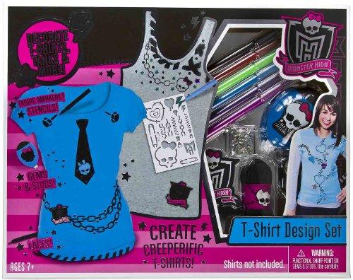 MonsterHigh T-Shirt Design Set