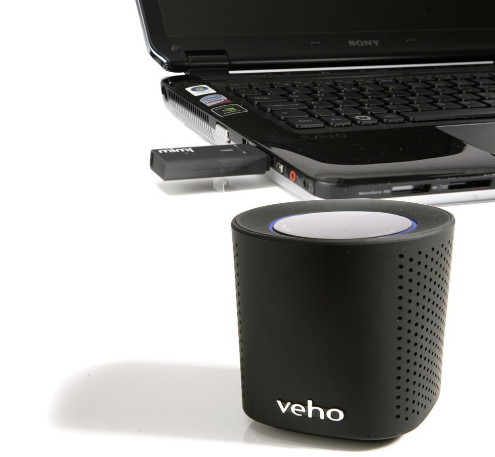 Lecteur Audio Radio  Wifi VEHO VSS002W NOIR
