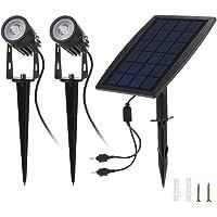Tomshine Waterproof Solar Spotlights