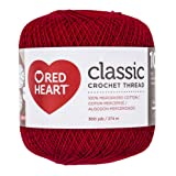Coats Crochet Classic Crochet Thread, 10, Victory Red (Color: Victory Red, Tamaño: 10)
