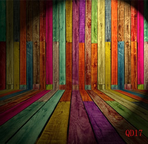 Stereoscopic Wall&Floor 8X8Ft Thin Vinyl Photography Backdrop Customized Qd17