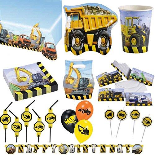 kit-anniversaire-complet-construction-engins-de-chantier-pour-6