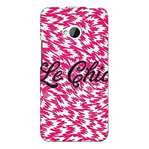 Jugaaduu Le Chic Back Cover Case For HTC One M7