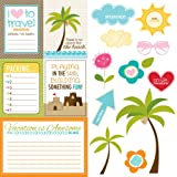 Bella Blvd Sand & Surf Cute Cuts Paper