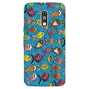 Back Cover for Moto G (4th Gen) FISH