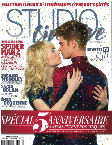 Studio Cine Live [France] Apr 2014 (single issue)