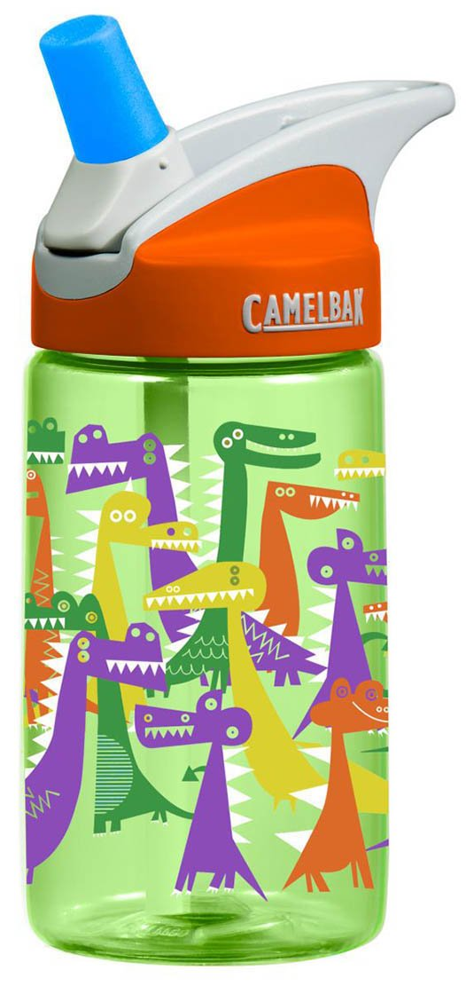 camelbak eddy kids 4l water bottle dino party 4 liter ebay. Black Bedroom Furniture Sets. Home Design Ideas