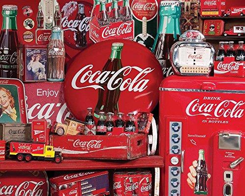Springbok Coca-Cola Memories Jigsaw Puzzle, 1500-Piece