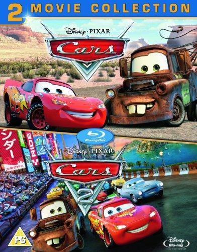 Cars 1 and 2 Box Set [Blu-ray] (Region Free)