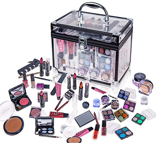 shany-carry-all-trunk-professional-makeup-kit-eyeshadowpedicuremanicure-with-black-trim-clear-case