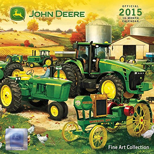 John Deere Fine Art Collection 2015 Small Wall Calendar