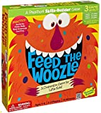 Peaceable Kingdom PEAGMK2 Feed the Woozle Preschool Skills Builder Game