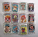 1986 Topps Garbage Pail Kids Button Set
