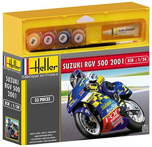 Heller - 50922 - Maquette - Suzuki RGV 500 - Echelle 1:24