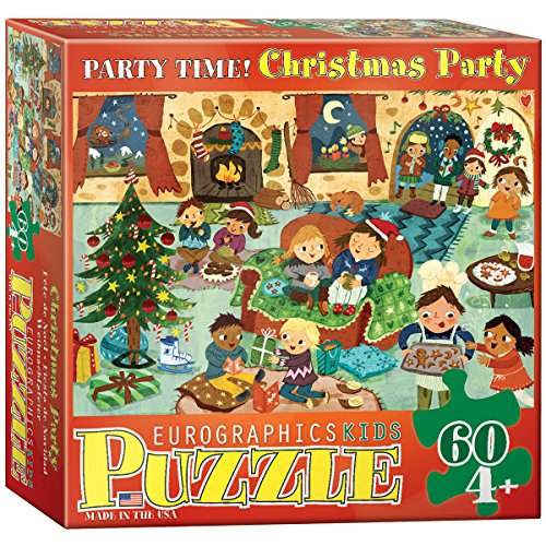 Party Time Christmas 60 Piece Puzzle - 1