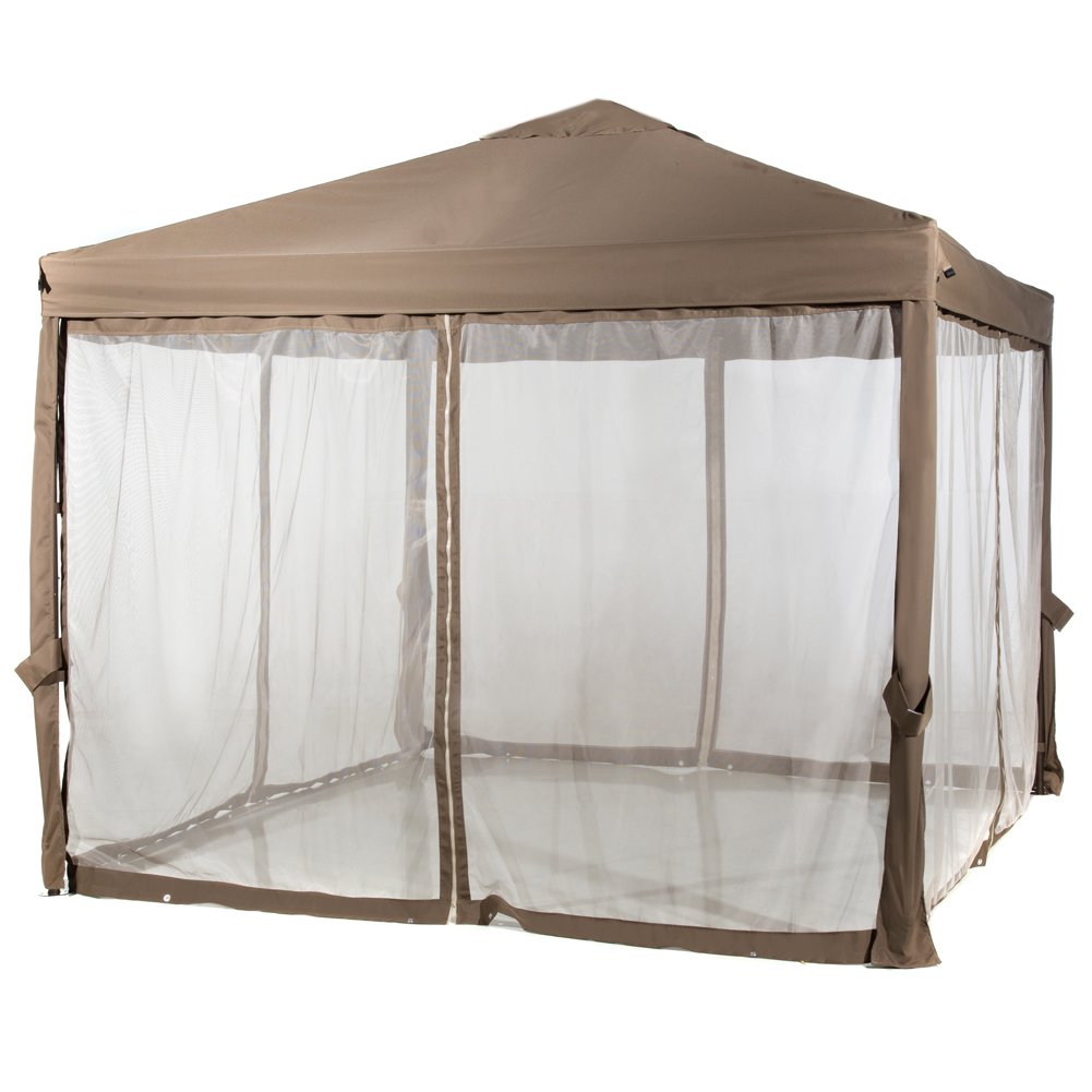 Abba Patio 10x10 Feet Fully Enclosed Garden Canopy With