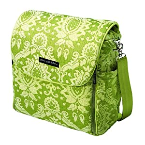 petunia pickle bottom women 39 s boxy backpack diaper bag moroccan mint diaper tote. Black Bedroom Furniture Sets. Home Design Ideas