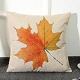 Maple Leaf pillow, Laimeng Home Car Bed Sofa Vintage Decorative Cushion Cover