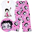 Betty Boop Heart Pajama Set for Juniors