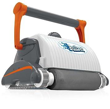 Poolstar bullzer turbo turbo robot nettoyeur de piscine for Robot piscine fond parois et ligne d eau