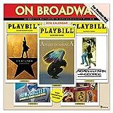 "Time Factory On Broadway 12"" x 12"" January -December 2019 Wall Calendar (19-1056)"
