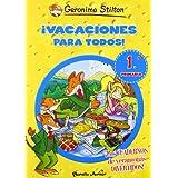 ¡Vacaciones para todos! 1: De primero a segundo de primaria (Aprende con Stilton)