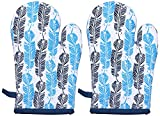 Suam Set of 2 Blue Oven Gloves