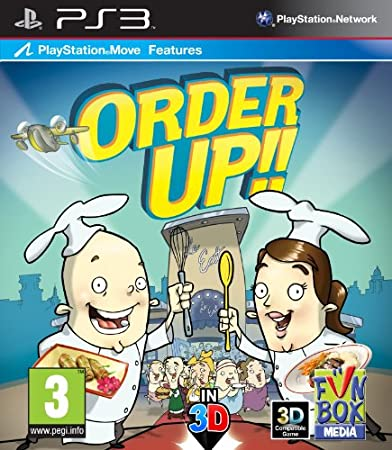 Order Up - Move compatible (PS3)